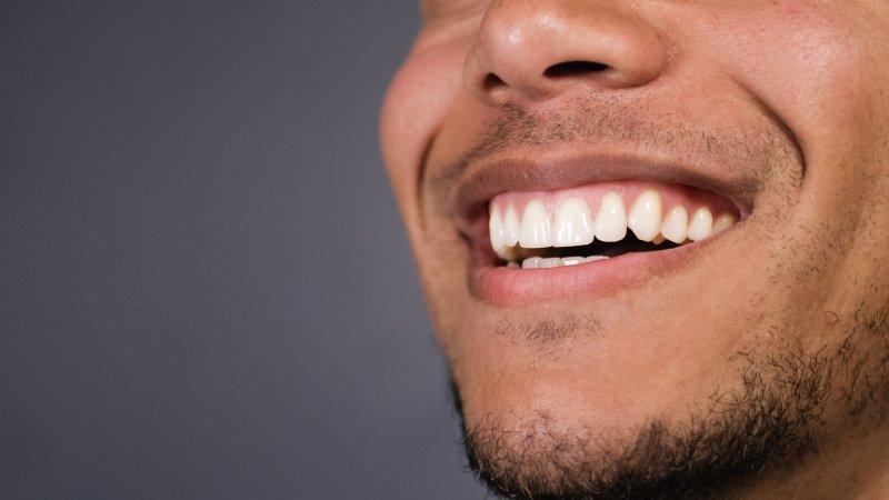 Man with straight teeth in Glenpool